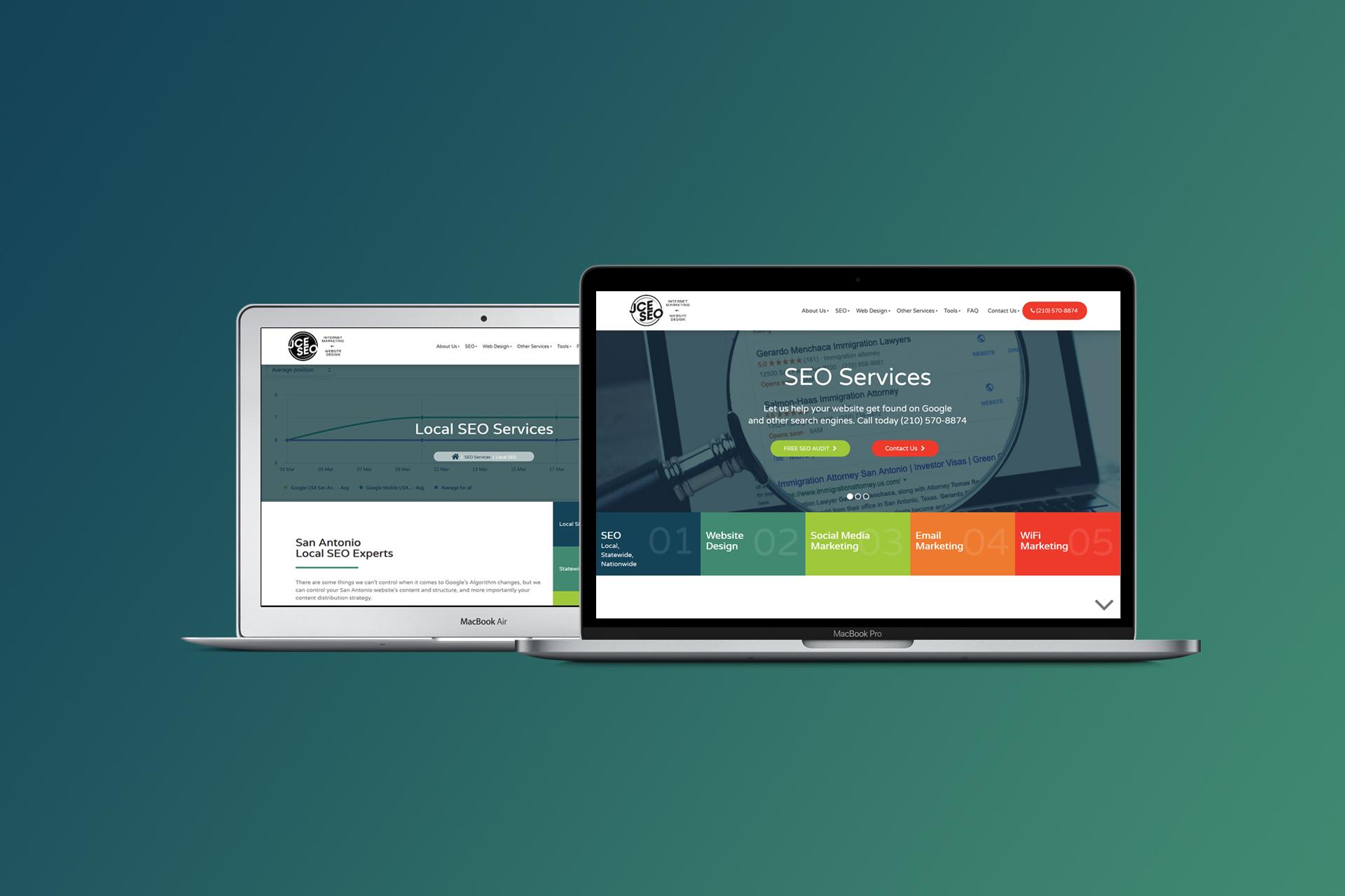 Digital Marketing Agency Website | Web Design and Development | E'finit Media San Antonio