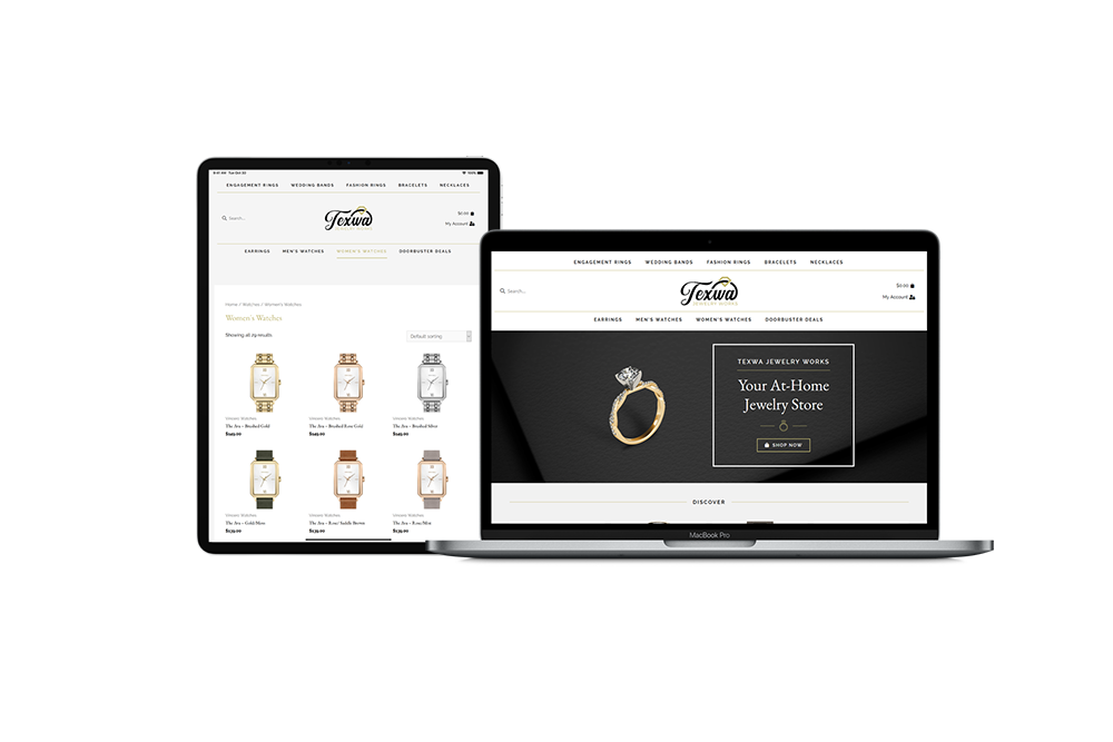 Jewelry eCommerce Website Design and Development