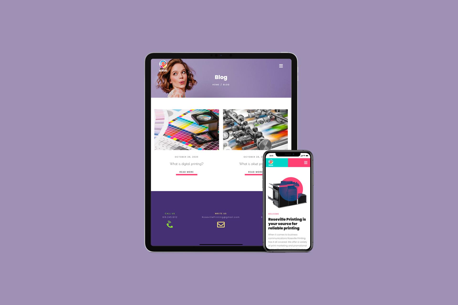 Graphic Design & Printing Company Website | Web Design and Development | E'finit Media San Antonio