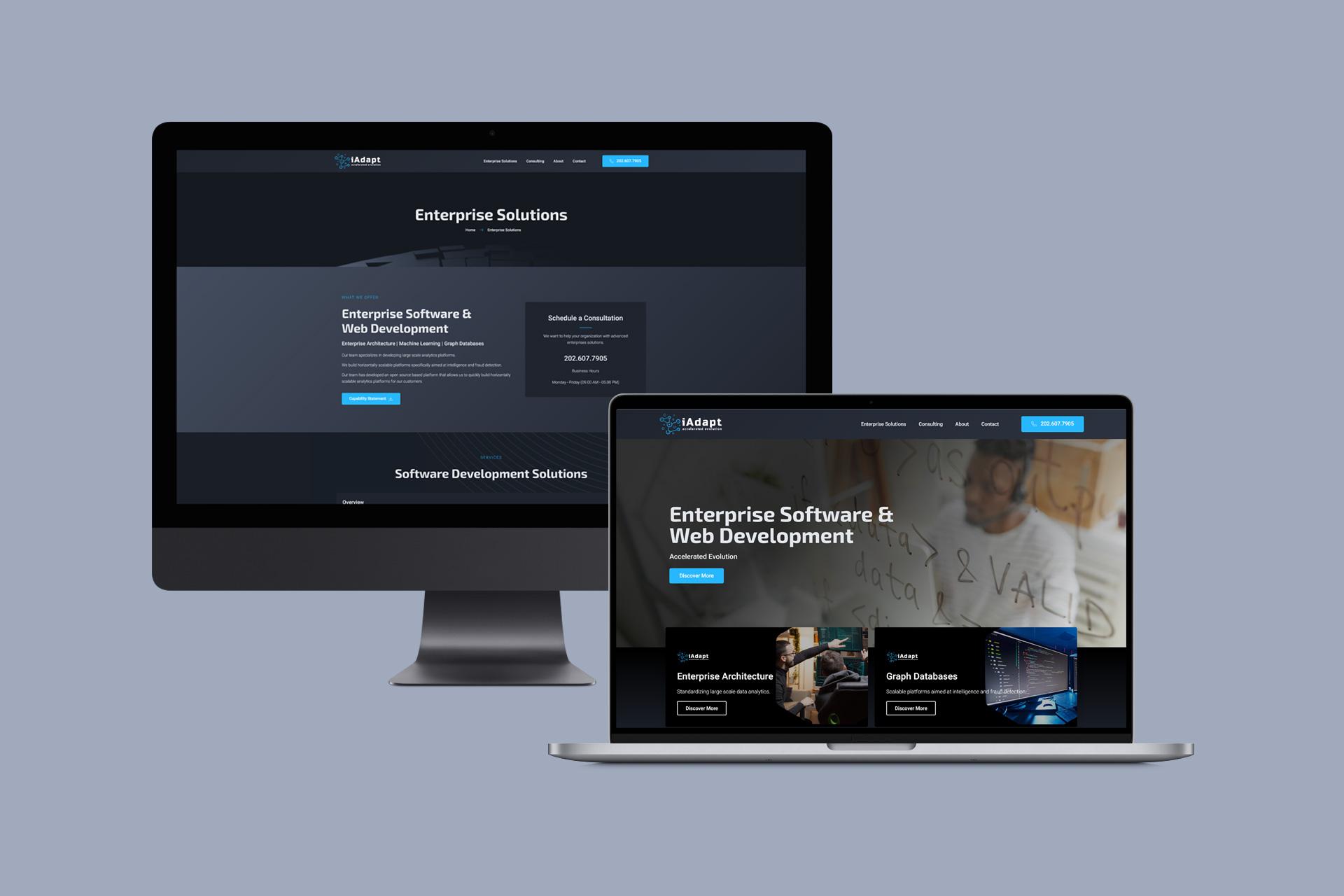 IT Services Company Website   WordPress Web Design and Development   E'finit Media San Antonio