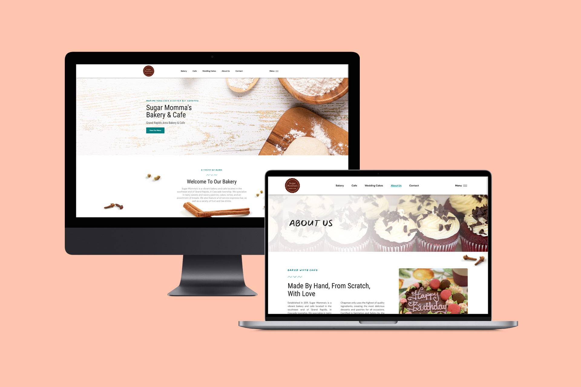 Bakery Cafe Website   WordPress Web Design and Development   E'finit Media San Antonio